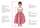 How to measurment for liitle girl dress