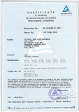 TUV CE certificate for bulkhead emergency light