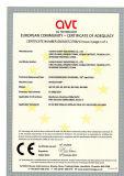 CE Certificate of Water Pump