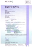 KEMA certificate for CDL7 RCD