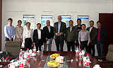 The President of the German cement association visited
