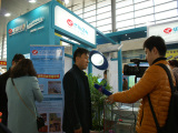2016 Yangzhou renewable energy show. Yangzhou TV interview on our manager