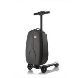 Folded Scooters Hoverboard-Big Wheels Suitcase Luggage Scooter