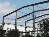 High quality steel building of standard warehouse in South Africa