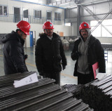Representatives of India SCCL Adriyala Coal Mine for bulk inspection