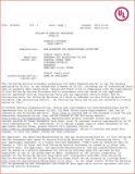 UL Certificate E472251