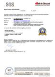 SGS Certificate Report