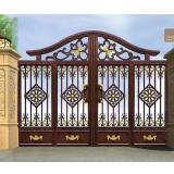 Vintage Aluminum Garden Gate