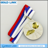 3D Embossed Brass Medal Custom Medals Football Challenge Coin Trophies