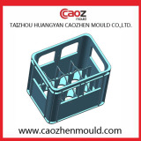 plastic beer crate design from Taizhou Huangyan Caozhen Mould Co.,ltd