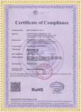 Certificates:ROHS