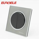 Round shape arcylic wall switch