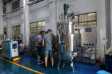 Acceptance success for 5 liters and 50 liters and 500 liters stainless steel fermenter