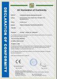 EC declaration/CE certificate