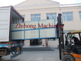 Loading FRP Rebar pultrusion machines