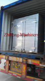 Loading silicone rubber curing oven