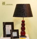 Classic black bedroom decoration