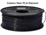 Black Carbon fiber PLA 3d printer filament