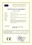 CE Certificate of LED Flashing Module