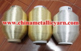 Pure Silver or Pure Gold Metallic Yarn for Morocco Marketing