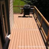 WPC flooring in balcony