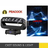 Dazzling Beam 6* 15W 4in1 LED Beam Moving Head Light