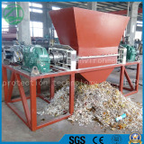 Plastic/Rubber/Drum/Wood/Tyre/Film/Lumps/Jumbo/ Woven Bags Double Shaft Shredder