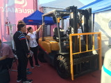 KAT FORKLIFT IN THE EXHIBITIONS