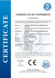 CE Certificate for Needle Flame Tester