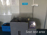 sweat test area