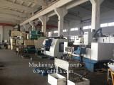 Machining various metal parts