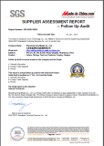 SGS Certificate - 2015
