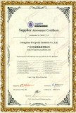 INTERNATIONAL TUV CERTIFICATE