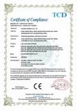 CE-EMC CERTIFICATE FOR LED LIGHTING FIXTURE