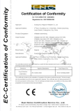 CE Certificate of Infaltable advertising