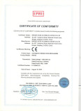 CE certificate of automatic swing door opener