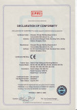 CE Certificate for Electric Pipe Cutting Machine and Beveling Machine