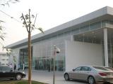 pre-engineered car exhibition hall