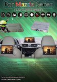 Android video interface for Mazda with headrest screen display