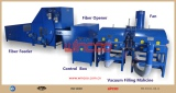 pillow production line/ fiber opening machine/ pillow forming line