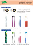 Orthodontic toothbrush and small head toothbrush