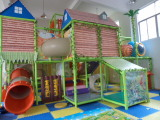 indoor playground real case view
