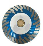 4-1/2 Inch Diamond Saw Blade Turbo for Cutting Granite, Super Plus Quality