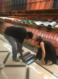 CUSTOMER CONFIRM ORDER IN 9FANG ROOFING CULTURAL CENTER