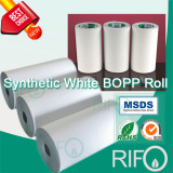 pearl three layer Rifo thermal synthetic roll paper