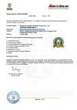 Dongguan Yongzhao factory certificate