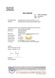 artificial grass for soccer passed the certification of lighting aging test