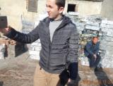 Switzerland customer visit the aluminum scraps factory