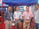 Customers visit of our booth