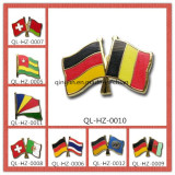 Nation Flag Metal Badge or Lapel Pin